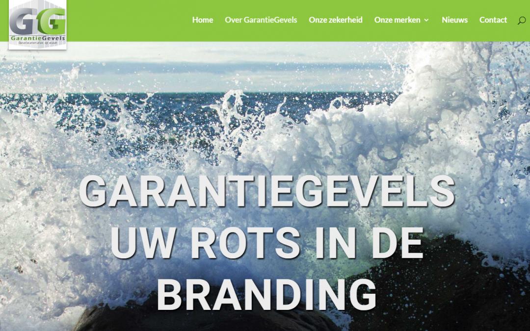 De website van GarantieGevels staat online!