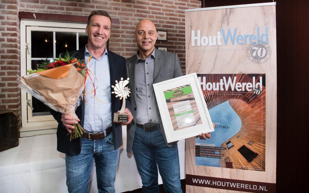 Houtwereld Topleverancier 2017-2018: GarantieGevels is de Beste Starter van 2017 geworden!