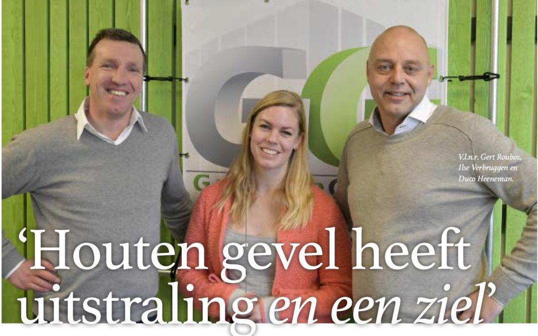 Interview in de Houtwereld over GarantieGevels en hun eigen houtmerk SoulWood®